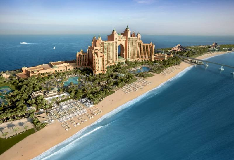 Luxusurlaub mit Meerblick im Atlantis The Palm